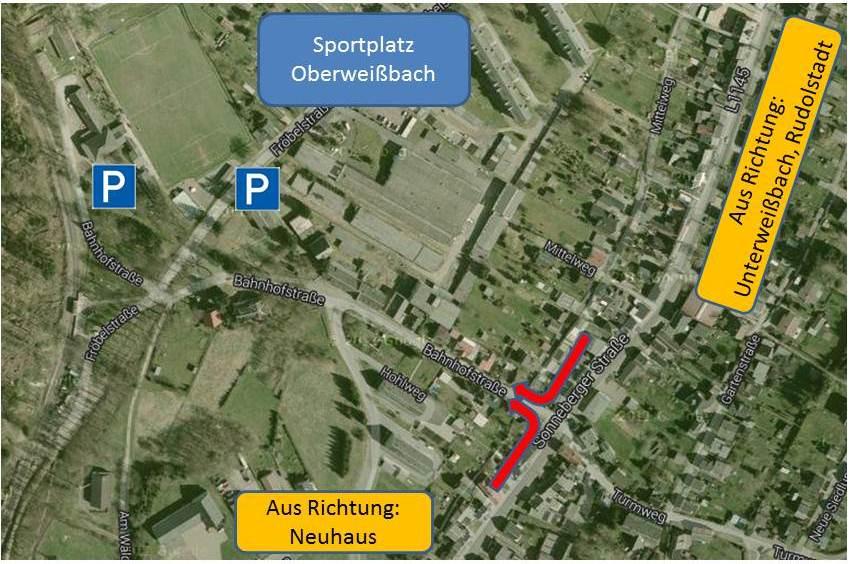Sportplatz Oberweißbach