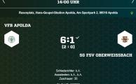 KOL 2018/19: VfB Apolda – SG 1.