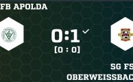 KOL 2019/20: VfB Apolda - SG 1.