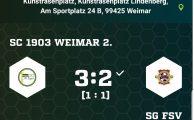 KOL 2019/20: SC 1903 Weimar 2. - SG 1.