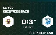 KOL 2019/20: SG 1. - FC Einheit Bad Berka